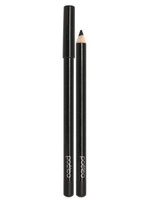Гелевый карандаш для глаз AQUA, тон 71 POETEA. Цвет: черный