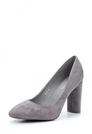 Туфли Style Shoes. Цвет: серый