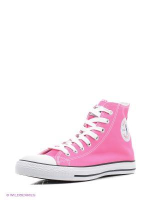 Кеды Hustler. Цвет: розовый