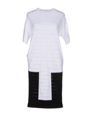 Короткое платье NEERA. Цвет: белый