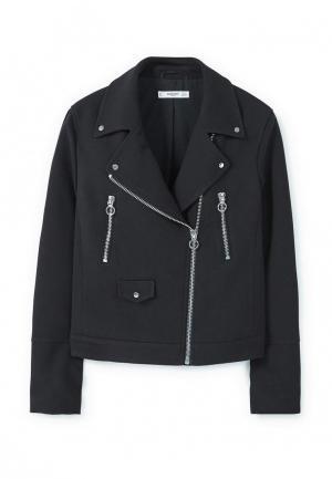 Куртка Mango. Цвет: черный