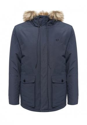 Куртка утепленная Fred Perry. Цвет: синий