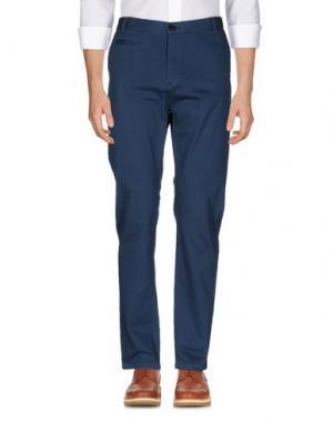 Повседневные брюки ONTOUR. Цвет: грифельно-синий