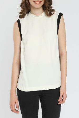 Блуза Moda di Chiara. Цвет: белый
