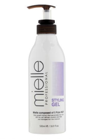 Гель для укладки волос JPS. Цвет: белый