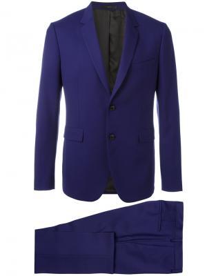 Формальный костюм-двойка Paul Smith. Цвет: розовый и фиолетовый