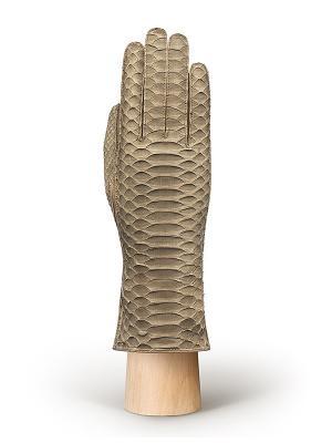 Перчатки Eleganzza. Цвет: хаки, темно-бежевый