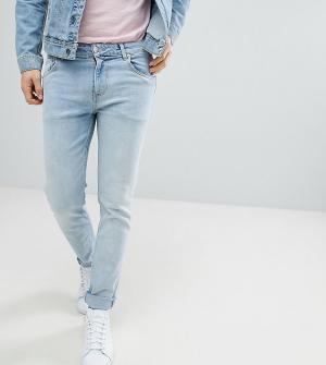 Noak Голубые джинсы скинни. Цвет: синий