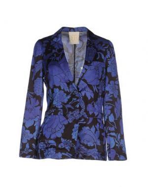 Пиджак TRUE ROYAL. Цвет: темно-синий