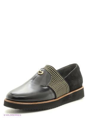 Туфли Tucino. Цвет: черный