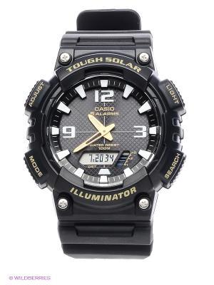 Часы Casio AQ-S810W-1B. Цвет: черный