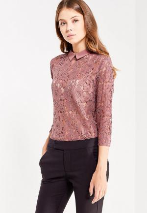 Блуза Jacqueline de Yong. Цвет: розовый