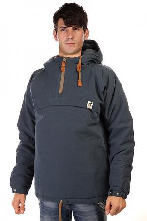 Анорак  Sailor Anorak Steel Blue Camel Fat Moose. Цвет: синий