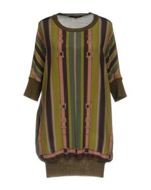 Короткое платье GUCCI. Цвет: зеленый