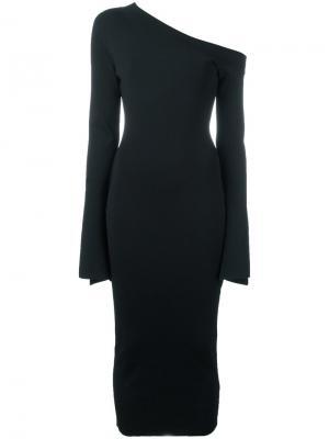 Платье Aeda Solace. Цвет: чёрный