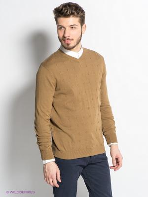 Пуловер TOM FARR. Цвет: оливковый