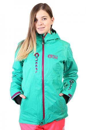 Куртка женская  Darling 2 Green Picture Organic. Цвет: зеленый