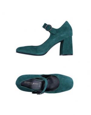 Туфли ELIANA BUCCI. Цвет: зеленый