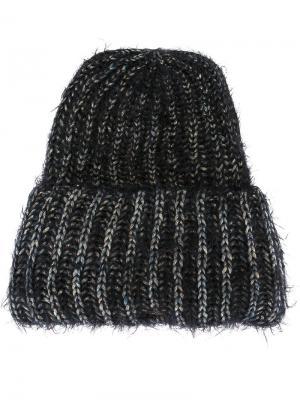 Шапка-бини Beanieone Super Duper Hats. Цвет: чёрный