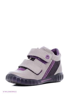 Спортивные ботинки ECCO. Цвет: лиловый, фиолетовый
