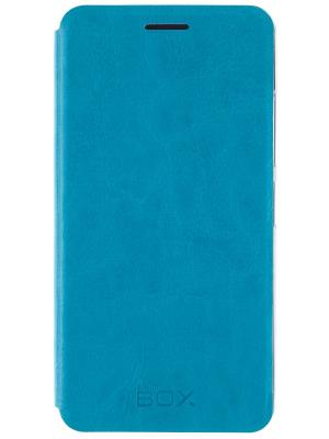 Lenovo A6000/6010 skinBOX Lux. Цвет: бирюзовый