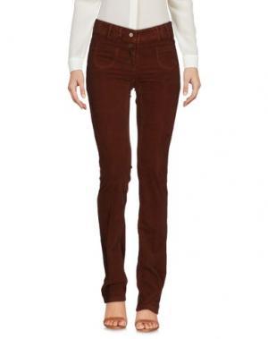 Повседневные брюки TRUE ROYAL. Цвет: коричневый