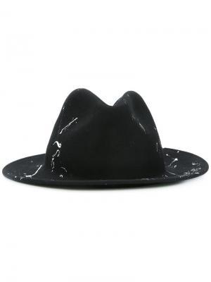 Шляпа Valferet Celine Robert. Цвет: чёрный
