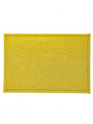 Обложка для проездного Yellow Tina Bolotina. Цвет: желтый