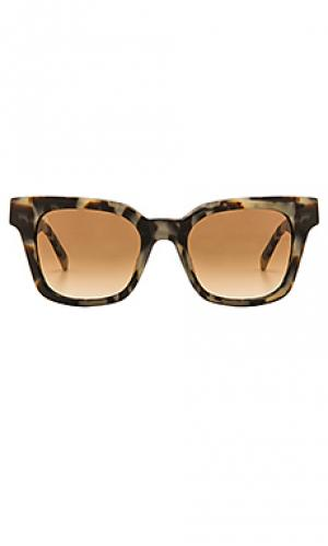 Солнцезащитные очки myer RAEN. Цвет: коричневый