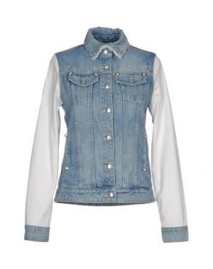 Джинсовая верхняя одежда MANUEL LUCIANO. Цвет: синий