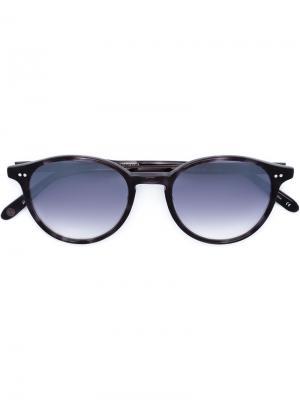 Солнцезащитные очки Pacific Garrett Leight. Цвет: чёрный