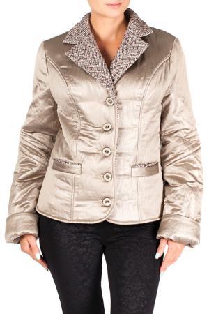 Куртка Mannon. Цвет: коричнево-золотой