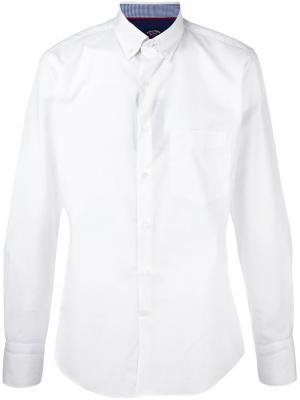 Классическая рубашка Paul & Shark. Цвет: белый