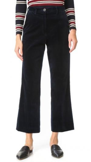 Расклешенные брюки Coler M.i.h Jeans. Цвет: темно-синий