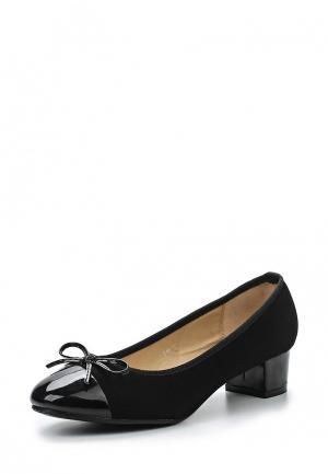 Туфли Super Mode. Цвет: черный