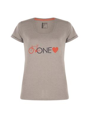 Футболка One Love T-Shirt DARE 2B. Цвет: серый