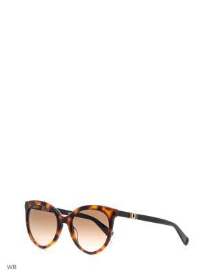 Солнцезащитные очки MAXMARA. Цвет: коричневый