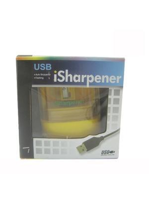 Точилка для карандашей Isharpener [автоматическая, USB, цвет черный] Pro Legend. Цвет: черный