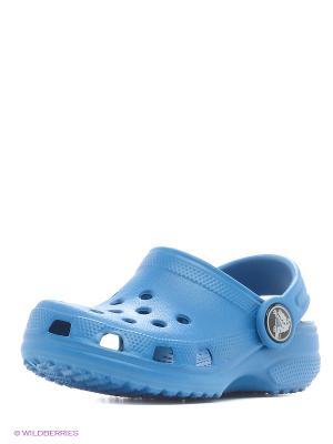 Сабо CROCS. Цвет: синий, голубой