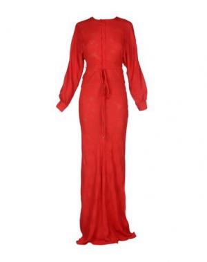 Длинное платье DSQUARED2. Цвет: красный