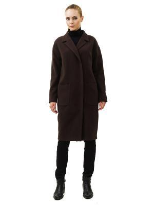 Пальто DOCTOR E. Цвет: темно-коричневый