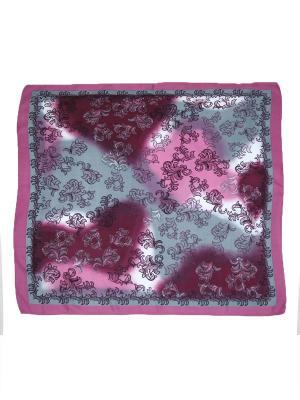 Платок Magrom. Цвет: серый, розовый
