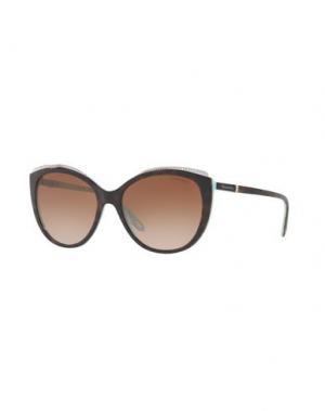 Солнечные очки TIFFANY & CO.. Цвет: темно-коричневый