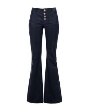 Повседневные брюки INES DE LA FRESSANGE. Цвет: темно-синий