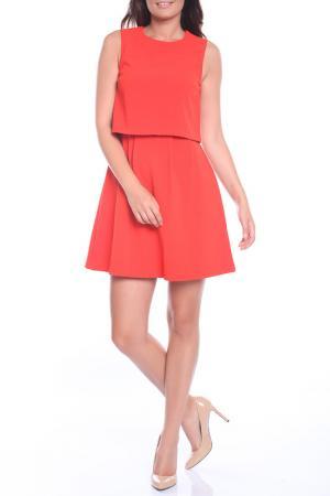 Платье Emma Monti. Цвет: оранжевый