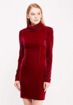Платье Guess Jeans. Цвет: бордовый