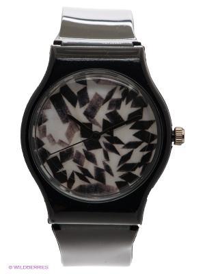 Часы Kawaii Factory. Цвет: черный, белый