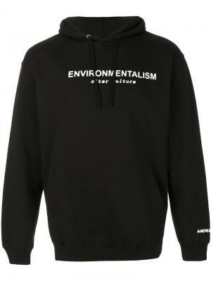 Толстовка Environmentalism Andrea Crews. Цвет: чёрный