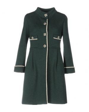 Пальто CHARLOTT. Цвет: темно-зеленый