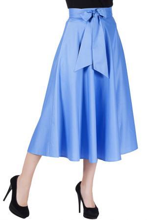 Юбка Mannon. Цвет: голубой